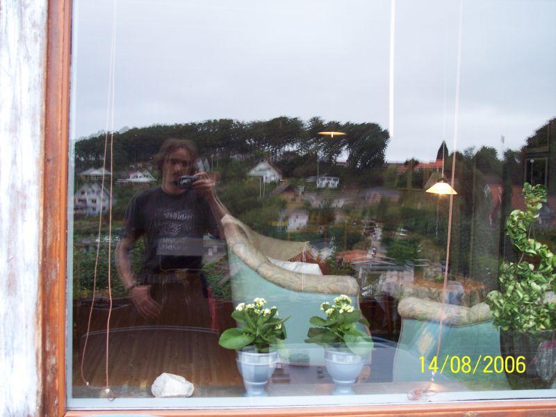 Blick in das Fenster... naja misslungen